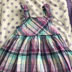 Other - Adorable purple plaid Baby BGosh dress.  Size 3T.